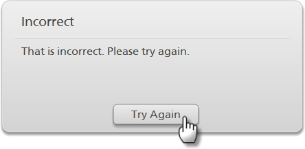 custom quottry againquot button on feedback master doesnt work