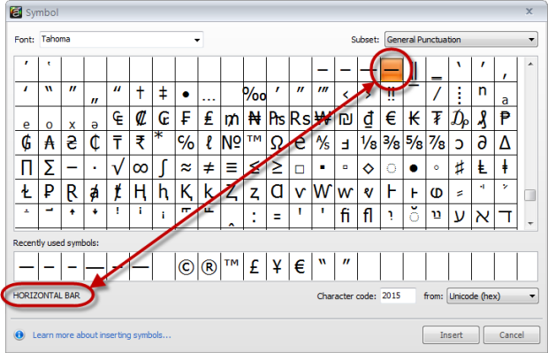 En And Em Dashes In Storyline Articulate Support